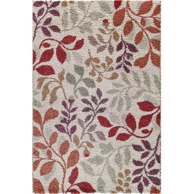 Hamilton Grey/Red Area Rug Rug Size: 710 x 910