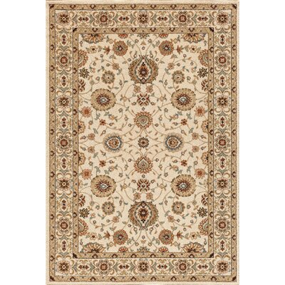 Hadfield Bone Area Rug Rug Size: 710 x 910
