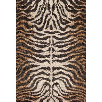 Hamilton Brown Area Rug Rug Size: 710 x 910