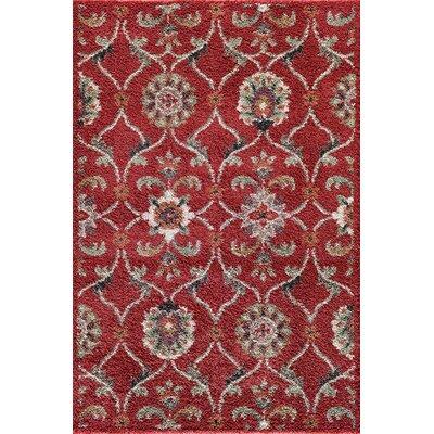 Hamilton Red Area Rug Rug Size: 5 x 73