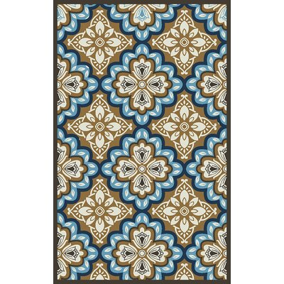 Lindsay Beige Indoor/Outdoor Area Rug Rug Size: 67 x 96