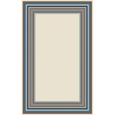 Lindsay Ivory Indoor/Outdoor Area Rug Rug Size: 67 x 96