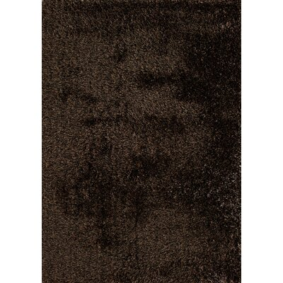 Cedric Hand-Woven Bronze Area Rug Rug Size: 5 x 7