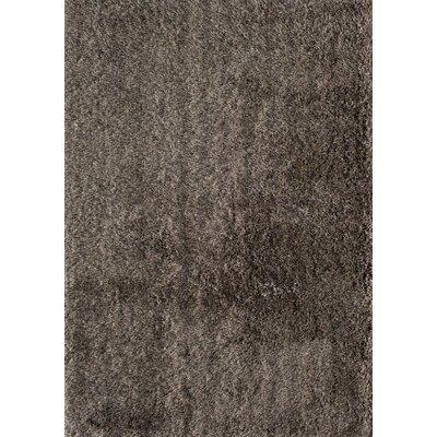 Cedric Hand-Woven Grey/Gold Area Rug Rug Size: 66 x 96