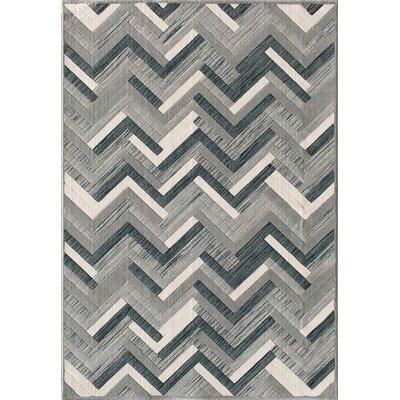 Jackson Slate/Blue Area Rug Rug Size: 53 x 77