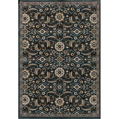 Jasper Slate/Blue Area Rug Rug Size: 710 x 910