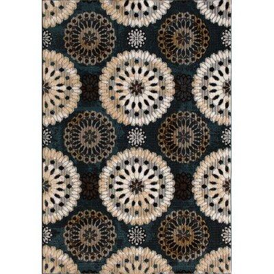 Jackson Blue/Slate Area Rug Rug Size: 710 x 910