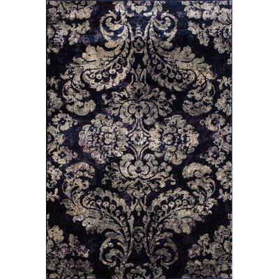Norton Indigo/Orchid Area Rug Rug Size: 710 x 910