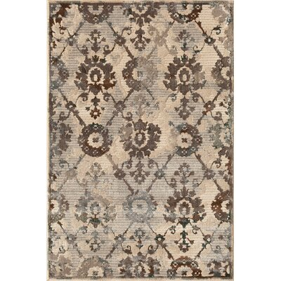 Suffolk Silver/Teal Area Rug Rug Size: 710 x 910