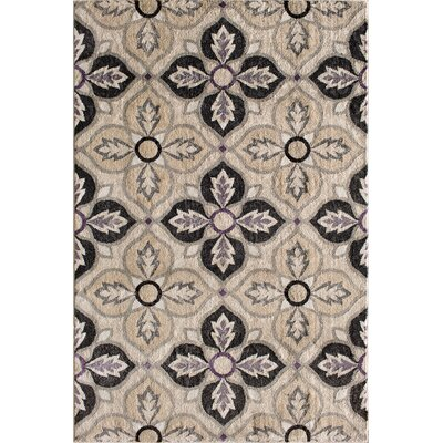 Norton Birch/Orchid Area Rug Rug Size: 5 x 76