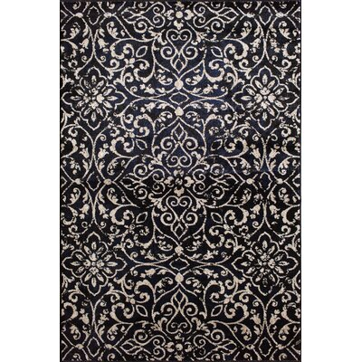 Norton Ebony/Birch Area Rug Rug Size: 5 x 76