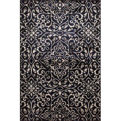Norton Ebony/Birch Area Rug Rug Size: 710 x 910