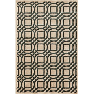 Suffolk Pearl/Teal Area Rug Rug Size: 5 x 76