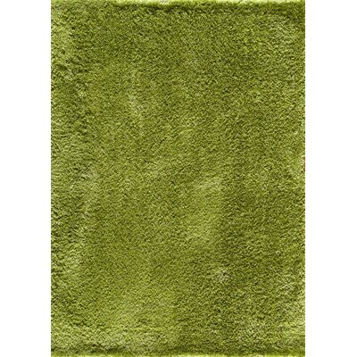 Winslow Hand-Woven Green Area Rug Rug Size: 5 x 7