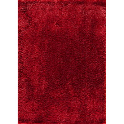 Winslow Red Area Rug Rug Size: 5 x 7