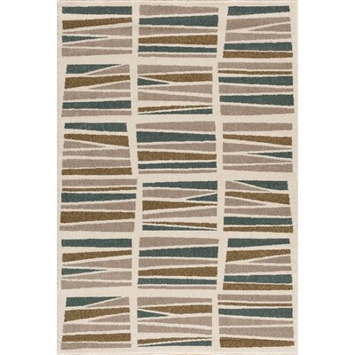 Hadfield Gray Area Rug Rug Size: 710 x 910
