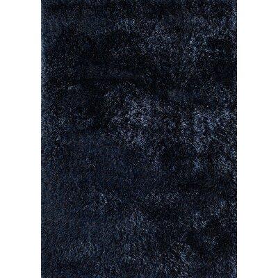Cedric Hand-Woven Blue Area Rug Rug Size: 66 x 96