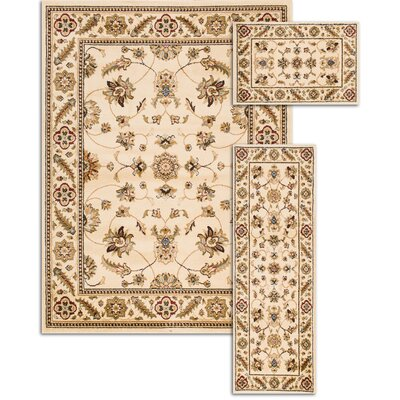 Penfield Ivory 3 Piece Area Rug Set