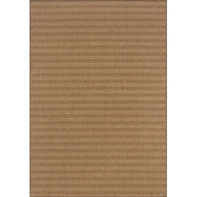 South Hampton Tan Indoor/Outdoor Area Rug Rug Size: Rectangle 6'7