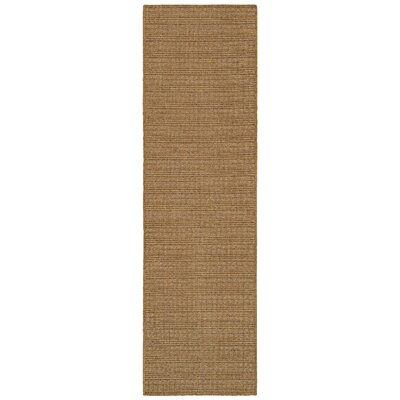 South Hampton Tan Indoor/Outdoor Area Rug Rug Size: Runner 2'3