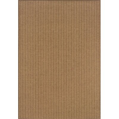 South Hampton Tan Indoor/Outdoor Area Rug Rug Size: Rectangle 53 x 76