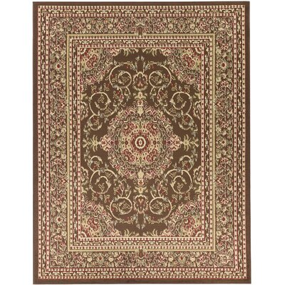 Theodore Brown Area Rug Rug Size: 710 x 910