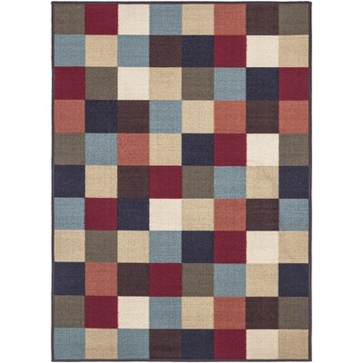 Galesburg Multi Indoor/Outdoor Area Rug Rug Size: 82 x 910