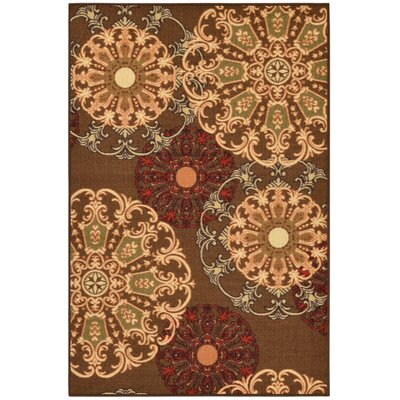 Galesburg Chocolate Area Rug Rug Size: 3 x 5