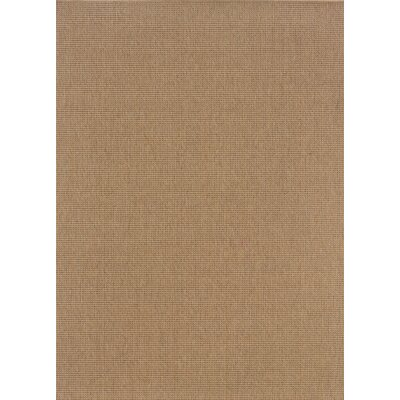 Mallory Sand Indoor/Outdoor Area Rug Rug Size: 19 x 39