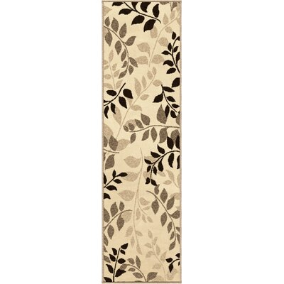 Sierra Olive Grove Beige Indoor/Outdoor Area Rug Rug Size: 52 x 76
