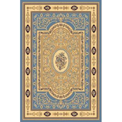 Gloucester Light Blue Area Rug Rug Size: 53 x 710