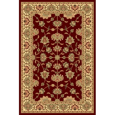 Gloucester Red Area Rug Rug Size: Runner 23 x 71