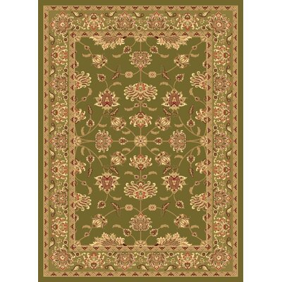 Gloucester Green Area Rug Rug Size: 53 x 710