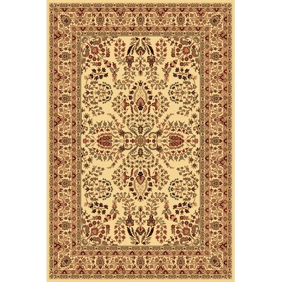Gloucester Cream Area Rug Rug Size: Rectangle 2 x 211