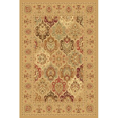 Gloucester Brown/Beige Area Rug Rug Size: Rectangle 2 x 211