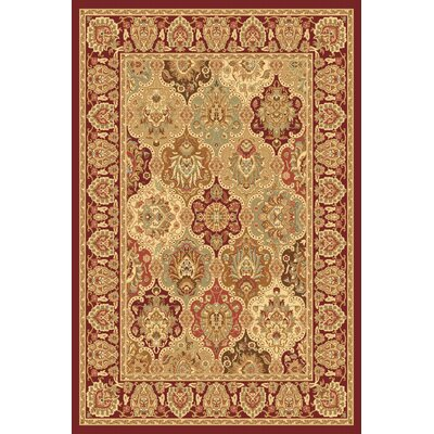 Gloucester Red Area Rug Rug Size: 910 x 132