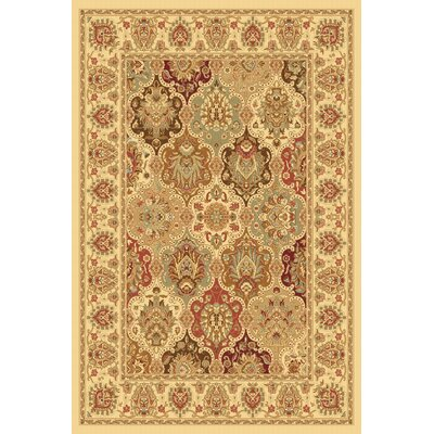 Gloucester Cream Area Rug Rug Size: Rectangle 53 x 710
