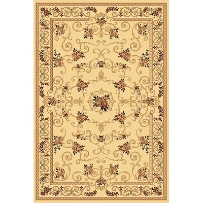 Gloucester Cream Area Rug Rug Size: Rectangle 910 x 132