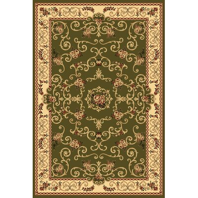 Gloucester Olive Area Rug Rug Size: Rectangle 2 x 211