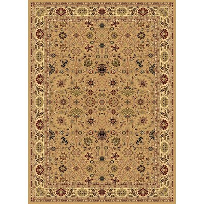 Gloucester Tan Area Rug Rug Size: Rectangle 710 x 1010