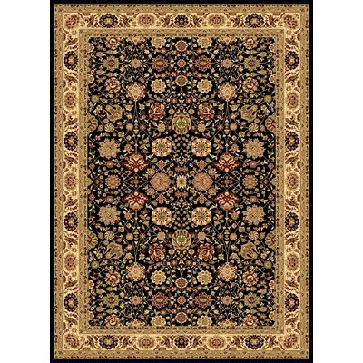 Gloucester Black Area Rug Rug Size: Rectangle 311 x 53
