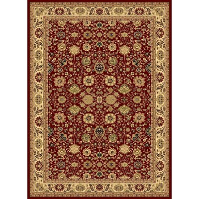 Gloucester Red Area Rug Rug Size: 311 x 53