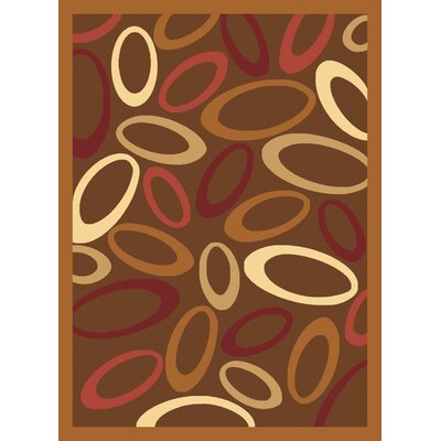 Jordan Brown Area Rug Rug Size: 311 x 53
