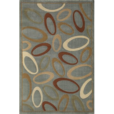 Jordan Light Blue Area Rug Rug Size: Rectangle 2 x 211