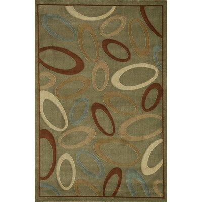 Jordan Light Green Area Rug Rug Size: Rectangle 53 x 710