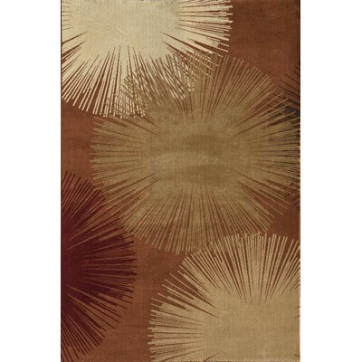 Jordan Red Area Rug Rug Size: Rectangle 710 x 1010