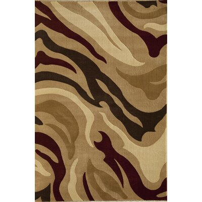 Jordan Brown Area Rug Rug Size: 2' x 2'11