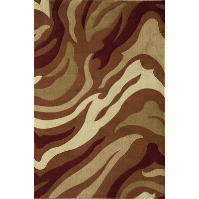 Jordan Brown Area Rug Rug Size: 710 x 1010