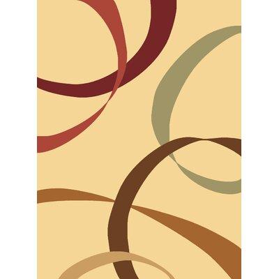 Jordan Cream Area Rug Rug Size: 710 x 1010