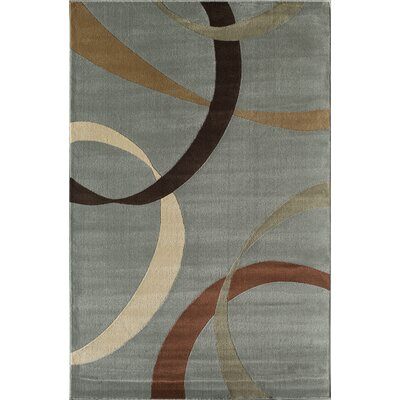 Jordan Light Blue Area Rug Rug Size: Rectangle 710 x 1010